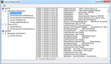 Scense Debug Viewer